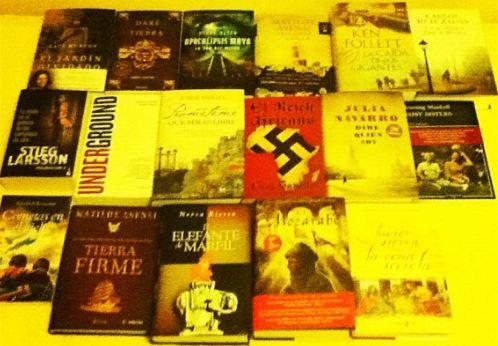 Lote de libros premio Desencaja 2011
